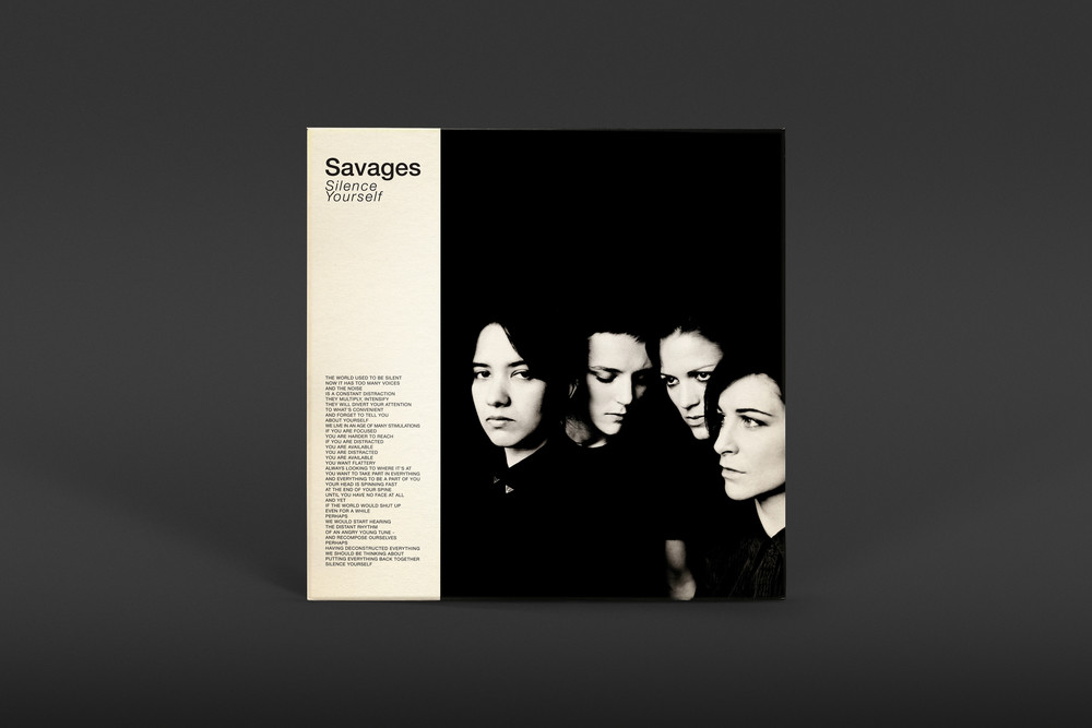 Savages - Silence Yourself - © Pop Noire